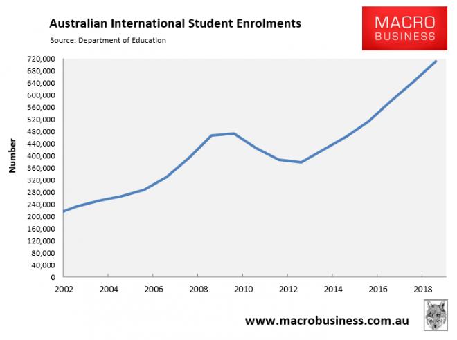 Australia taps new 'boom' market for international students