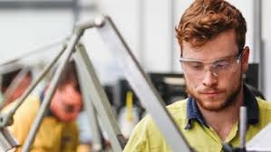 Funding for vocational education and training slumped to a 10-year low in 2018.CREDIT:GEORGIA MATTS