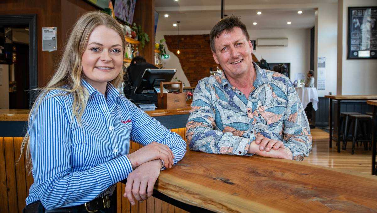 SUCCESS: Caitlin Radford and Chris Medcraft have used VET to improve their respective careers in agriculture and mental health. Picture: Paul Scambler