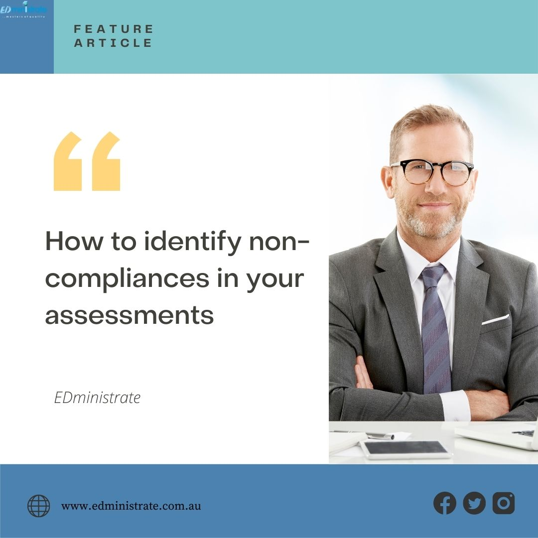 How to identify non-compliances in your assessments