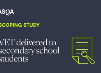 ASQA publishes scoping study on VET in schools